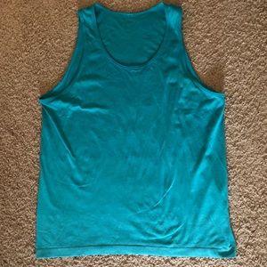 Lulu Lemon Mens muscle tank dri-fit material.